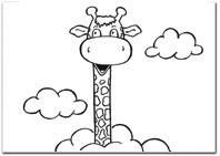 Kleurplaten Van Giraffen.Kleurplaten Met O A Juul De Giraf Eerste Communie Uitgeverij